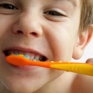 Back-to-school dental routine